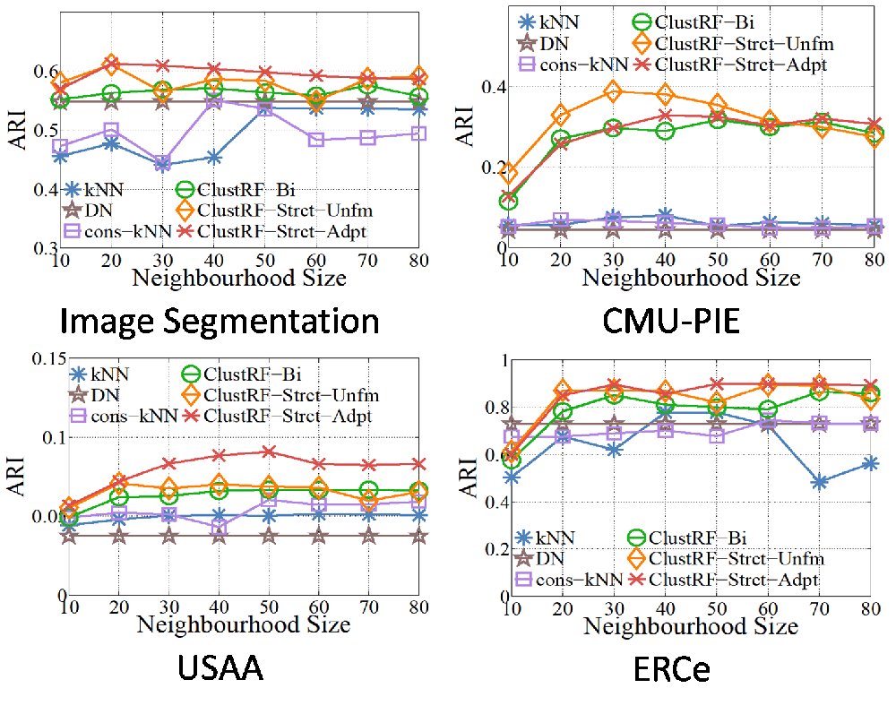 Constructing Robust Affinity Graphs for Spectral Clustering